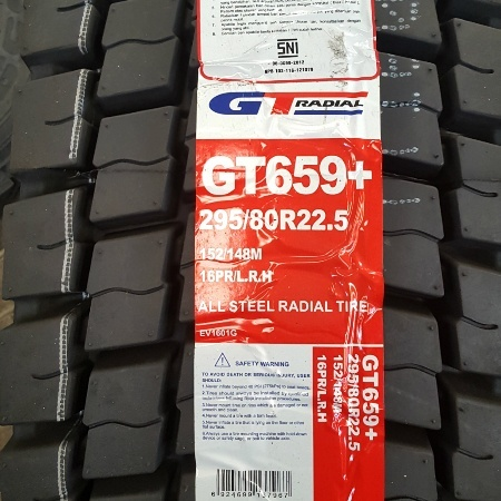 Tires wholesale from Indonesia GT Radial GT 659 R22.5